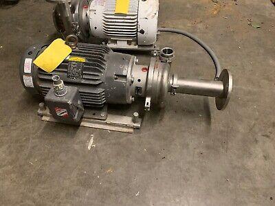 Waukesha Cherry Burrell Model 2065 Pump W Baldor Jmm3559t 20hp 2x3