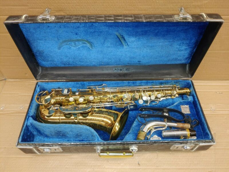 King Super 20  Alto Saxophone (Silver Neck!)