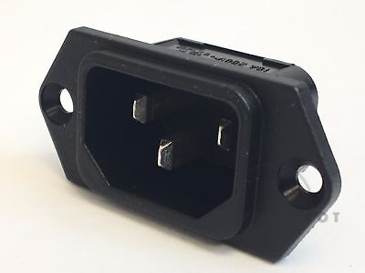 Schurter Appliance Inlet EC Power Entry Plug 15A -