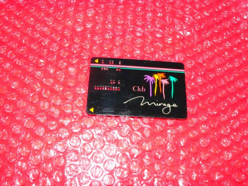 Club Mirage  Card  Punch Holes