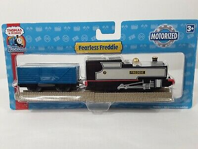 Motorized Fearless Freddie w/ Blue Car Thomas and Friends Trackmaster 2008 NIP