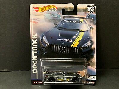 Hot Wheels Mercedes Benz AMG GT3 Grey Open Track FPY86-956H 1/64