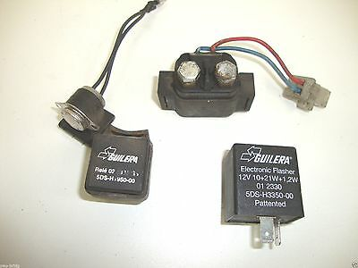 <em>YAMAHA</em> MAJESTY YP 125 2001 SET OF ELECTRICAL RELAYS