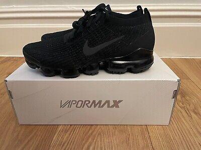 Nike Air Max Vapormax Flyknit 3 Trainer Triple Black - UK 12-...