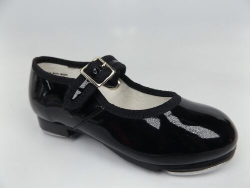 CAPEZIO Mary Jane Tap Black Patent Leather Toddler Girl