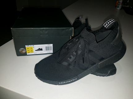 Adidas Originals NMD R1 PK Japan Triple Black 10.5US