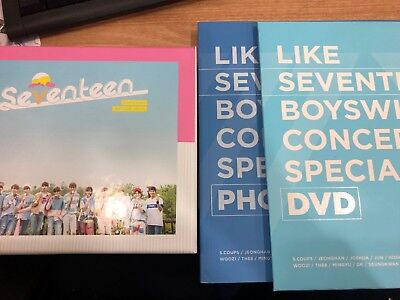 Seventeen Love & Letter Repackage Special Edition without Outber Box