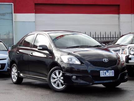 2010 Toyota Yaris YRX Sedan *** LOW KMS *** $10,888 DRIVE AWAY Footscray Maribyrnong Area Preview