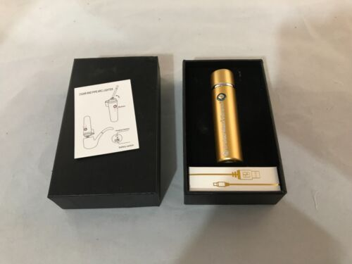 Cruiser Max Vibrance Cigar and Pipe Arc Lighter with USB Cable In Decorative Box