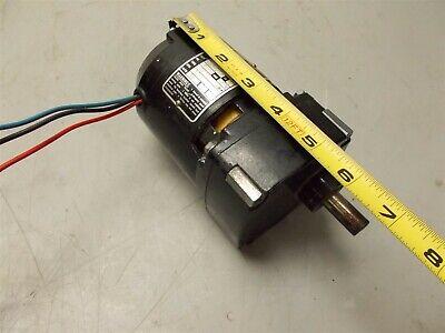 Bodine Electric Nci-11d4 Motor 115 Vac 17 Rpm 901 Ratio Cont. Duty
