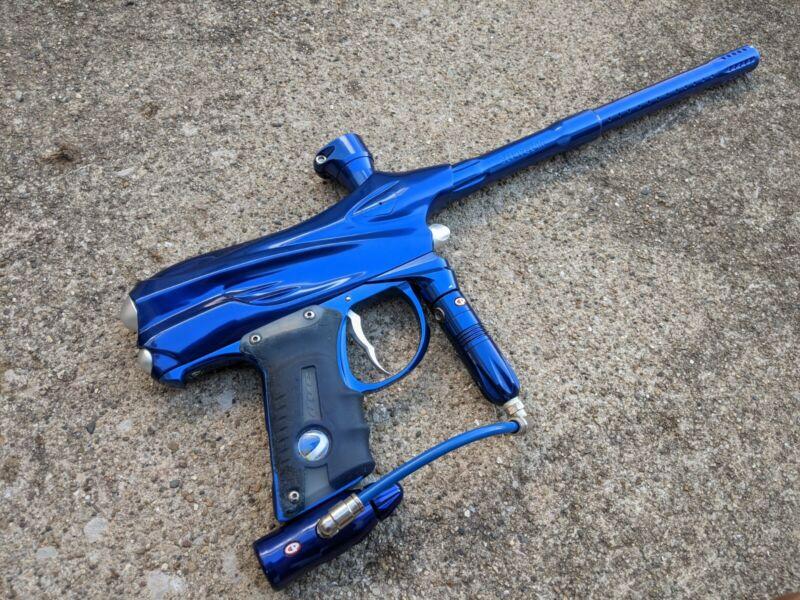 Dye Matrix DM4 Paintball Marker - Gloss Blue - Great OG Paintball Piece