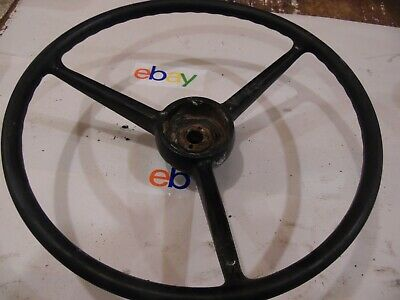 1977 International 1086 Farm Tractor Steering Wheel