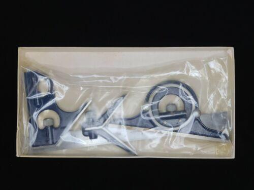 """NEW! Tumico No. 3034-12"""" Square and Center Head Reversible Protractor Head RARE!"""