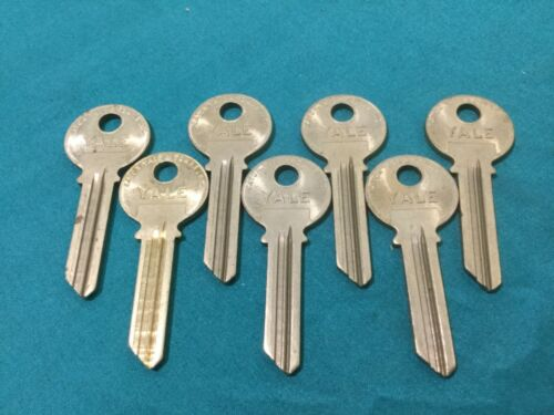 Locksmith Yale Original GF, 6 Pin Key Blanks, set of 7, locksmith