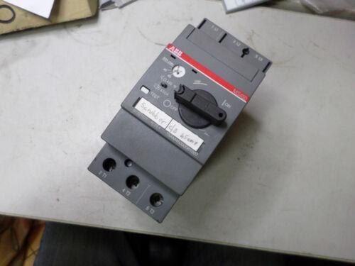 ABB -- MS450 MOTOR STARTER MANUAL Adjustable 40-50AMP -- 1SAM450000R1007