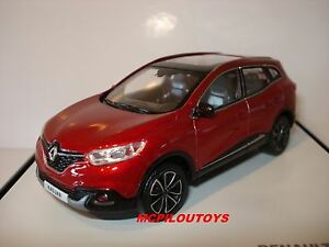 new norev renault kadjar suv rouge 2015 au 1 43 ebay. Black Bedroom Furniture Sets. Home Design Ideas