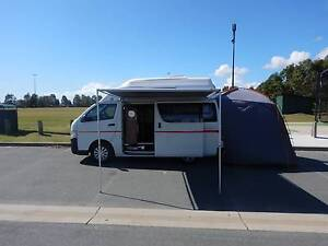 2006 Toyota Hiace Hitop Campervan North Lakes Pine Rivers Area Preview