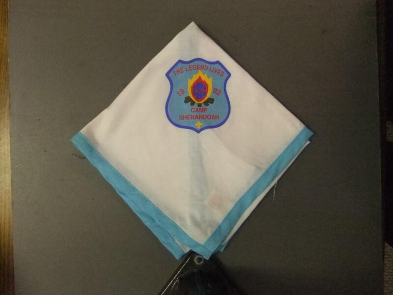 Boy Scout Camp Shenandoah Area Council Neckerchief 7988II
