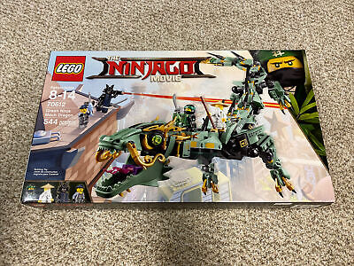 NEW LEGO Ninjago 70612 Green Ninja Mech Dragon NIB Sealed Officially Retired