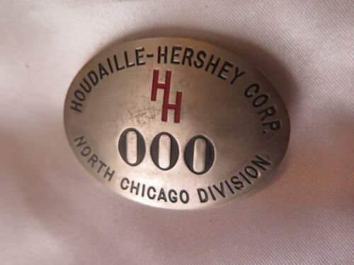 Houdaille-Hershey Plant ATOM BOMB PIN Manhattan Project site WWII MILITARY USAF