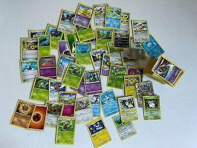 228 Pokemon Card Lot Various Years Some Foil and Holo