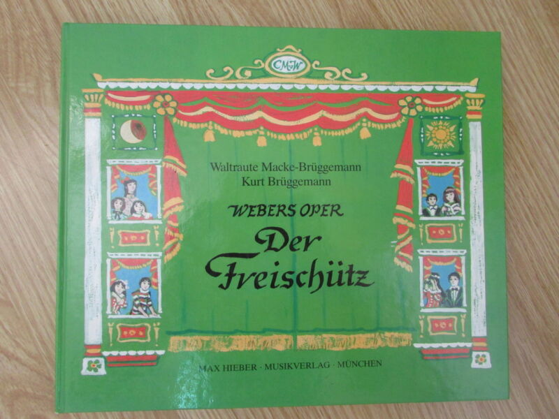 Der Freischütz Carl von Maria von Weber Oper Brüggemann 1988 Musik