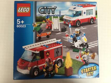 Lego City Tow Truck Set 60056 Complete Instructions Near New
