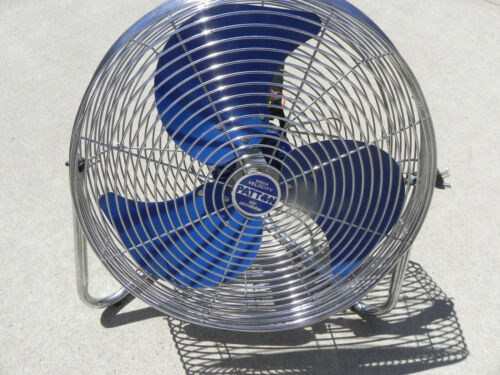 "Vintage Patton High Velocity  Fan 18"""