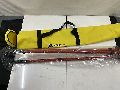 Adirpro Thumb Release Surveying Red Prism Pole Tripod
