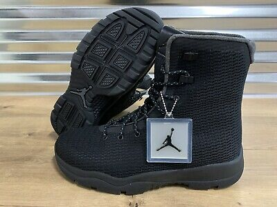 Nike Air Jordan Future Boots Black Dark Grey Waterproof SZ ( 854554-002 -