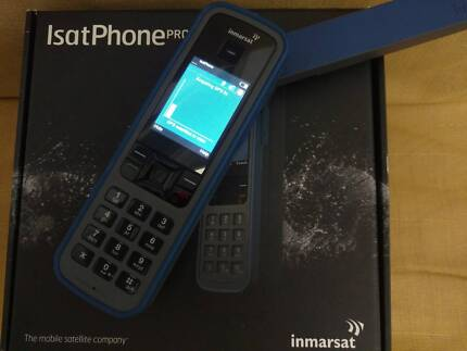 Isatphone PRO Satellite phone as new, with 99 unit credit