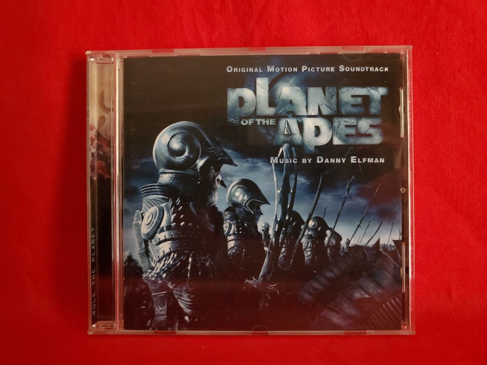 Planet Of The Apes 2001 Sony Soundtrack CD Danny Elfman - $2.97