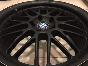 Bmw 19inch mags 5x120 clean