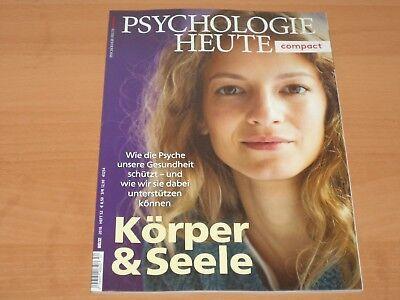 """PSYCHOLOGIE HEUTE compact """"Körper & Seele"""" Heft 52 Neuwertig!"""