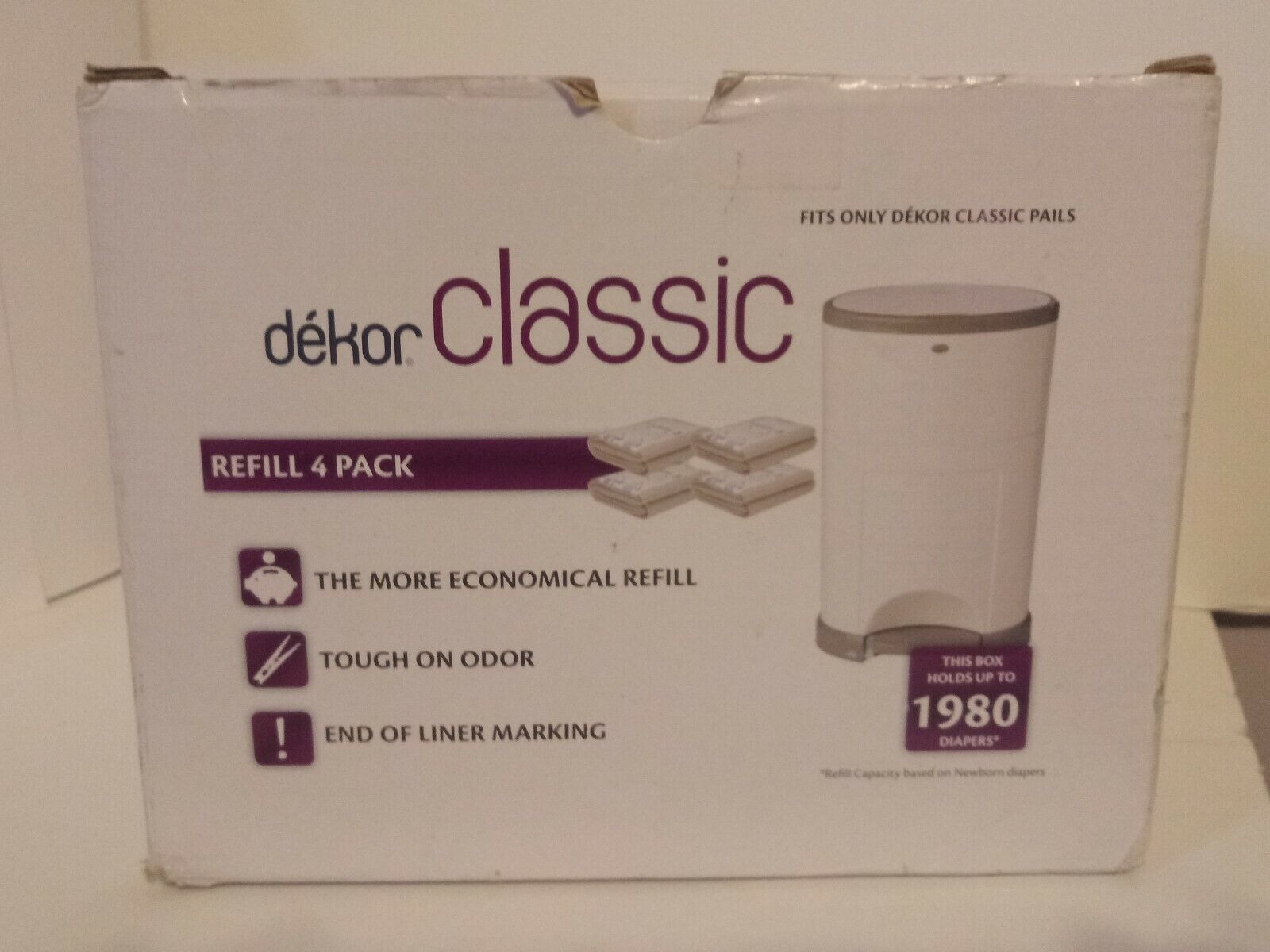 Dekor Classic Diaper Pail Refills | Most Economical Refill
