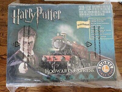 LIONEL HARRY POTTER HOGWARTS EXPRESS 7-11020 O-GAUGE TRAIN SET FACTORY SEALED