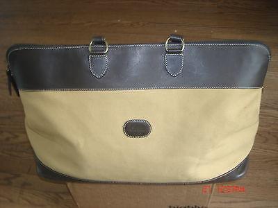 Cole Haan® Bag Leather & Khaki Canvas – BEAUTIFUL + UNIQUE