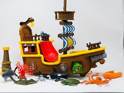 Jake And The Neverland Pirate Ship (LOT of Disney 'Jake and the Neverland Pirates' Musical Pirate)