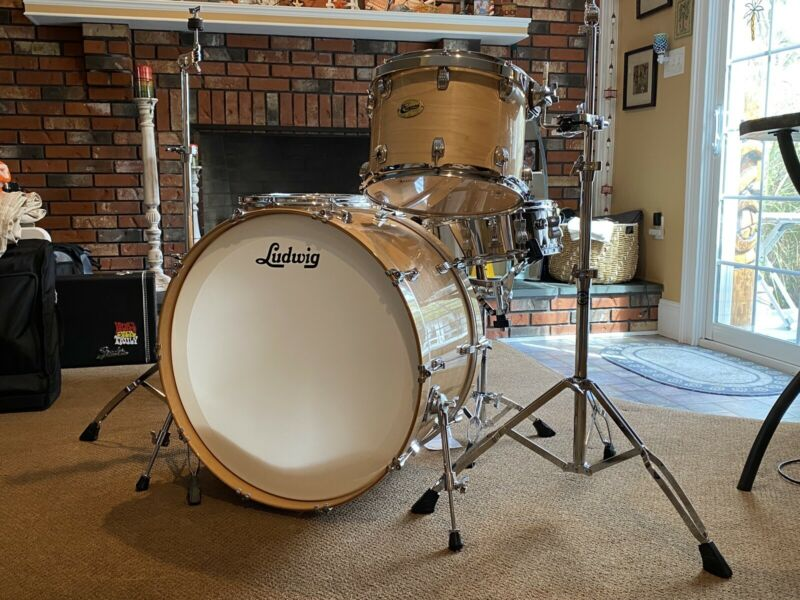 Ludwig Centennial 5-pc drum kit : ZEP Package