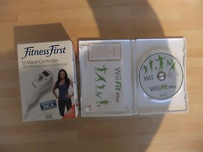 Fitness First U Move Exercise Gaming Motion Controller Pedometer Wii Fit Plus