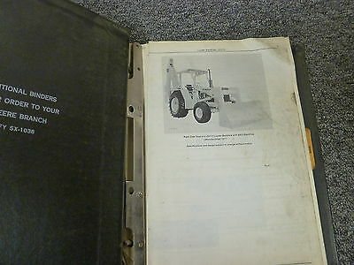 John Deere Jd510 Loader Backhoe Parts Catalog Manual Book Pc1240