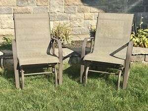 Metal rocking chairs outdoor