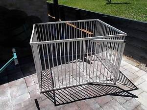 Aluminium pet dog puppy enclosure Erina Gosford Area Preview
