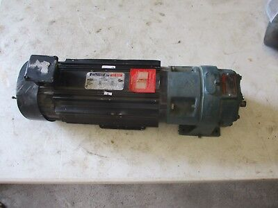 Reliance Electric D-c Motor W Dodge Gear Reducer 5161239h New