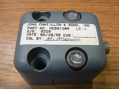 Chatillon Torque Calibrator Pn Nc001909