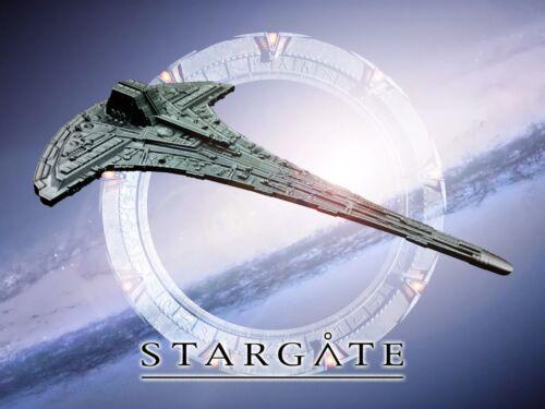 Stargate Universe 3D printed unpainted 21cm model of Destiny