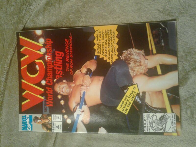 WCW World Championship Wrestling #2 1992  Comic Book!!