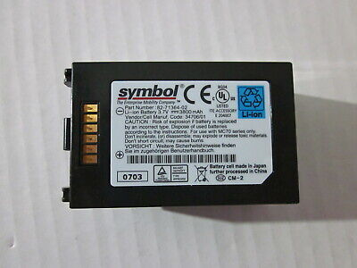 Genuine Original Battery For Symbol PDA Scanner - 82-71364-03 - For MC7004 ()