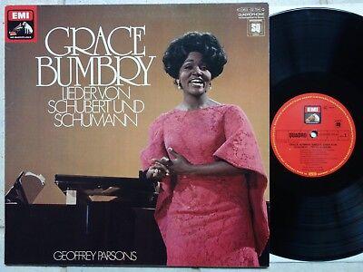 GRACE BUMBRY Singt Lieder von Schubert und Schumann LP Quadraphonic Quadrophonie