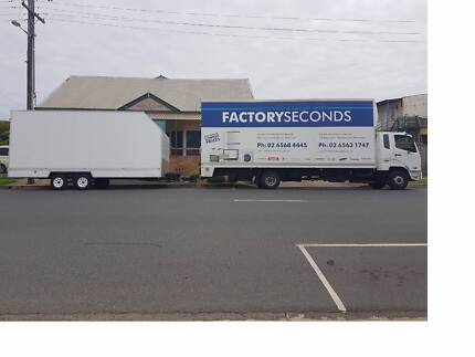 Removalist service to Melbourne available every fortnight!